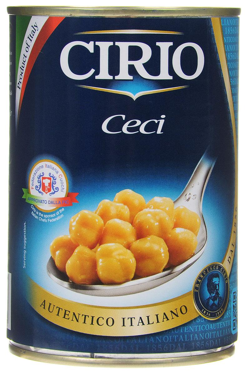 Cirio Ceci турецкий горох консервированный, 400 г0470060Консервированный турецкий горох Cirio Ceci. Благодаря высокому содержанию клетчатки нут улучшает пищеварение, благотворно влияет на работу сердца, а также регулирует уровень сахара в крови. Турецкий горох снабжает организм энергией, которая используется постепенно, не увеличивая уровень сахара в крови.