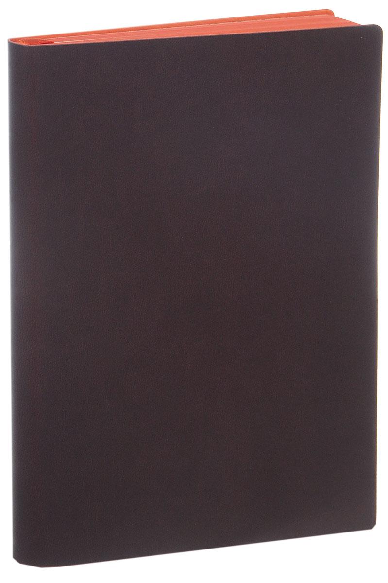 Index Ежедневник Colorplay недатированный 128 листов цвет коричневыйIDN110/A6/BRНедатированный ежедневник Index Colorplay - это один из удобных способов систематизации всех предстоящих событий и незаменимый помощник для каждого. Обложка выполнена из высококачественной искусственной кожи с тиснением. Внутренний блок на 256 страниц выполнен из состаренной офсетной бумаги с красным обрезом. Ежедневник содержит страницу для заполнения личных данных, календарь с 2016 по 2017 год, а также ляссе с металлической пряжкой для быстрого поиска нужной страницы. Все планы и записи всегда будут у вас перед глазами, что позволит легко ориентироваться в графике дел, событий и встреч.