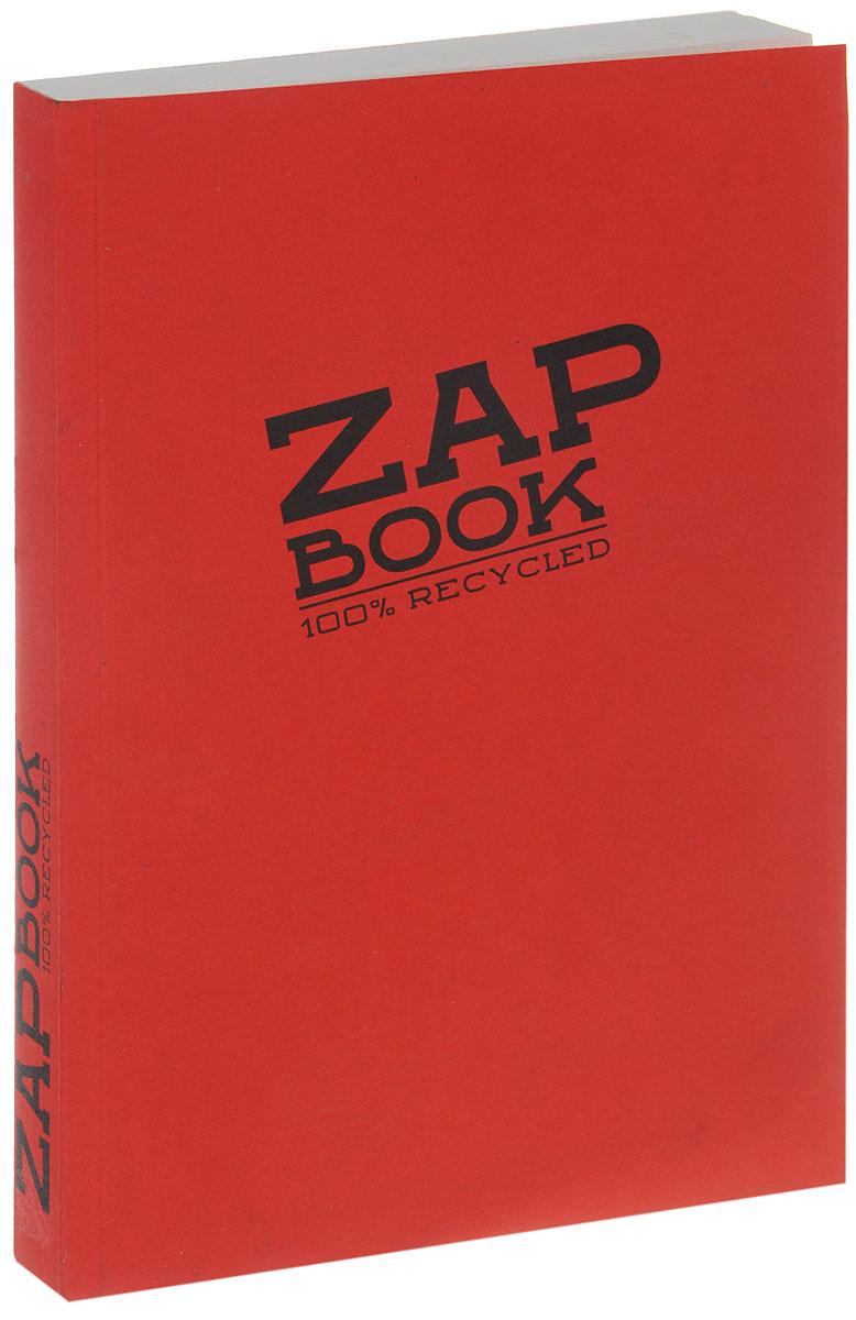 Clairefontaine Блокнот для эскизов Zap Book 160 листов цвет красный блокнот не трогай мой блокнот а5 144 стр