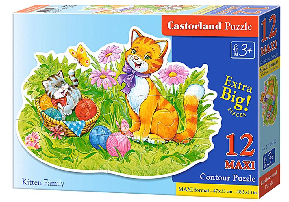 Castorland Пазл Кошачья семья, Castorland Puzzle