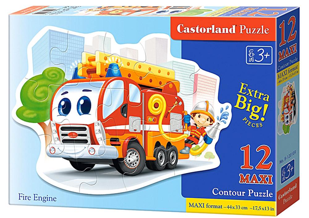 Castorland Пазл Пожарная машина консультирование родителей в детском саду возрастные особенности детей