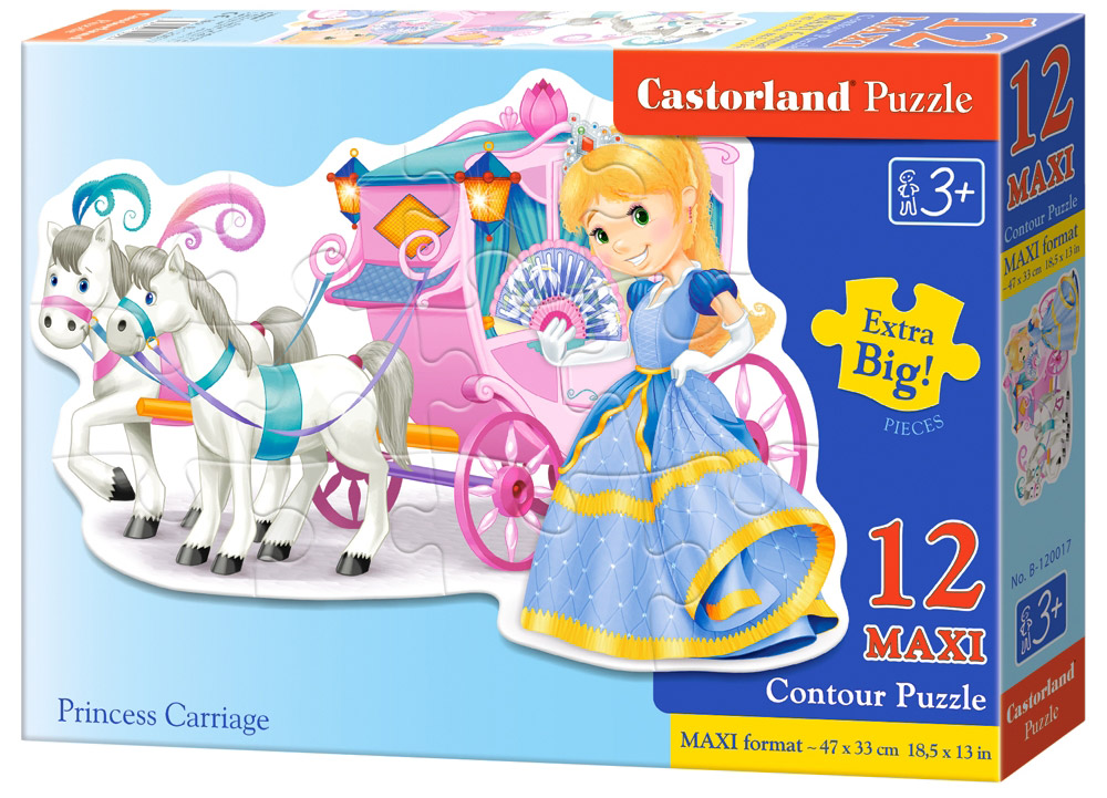 Castorland Пазл Принцесса, Castorland Puzzle