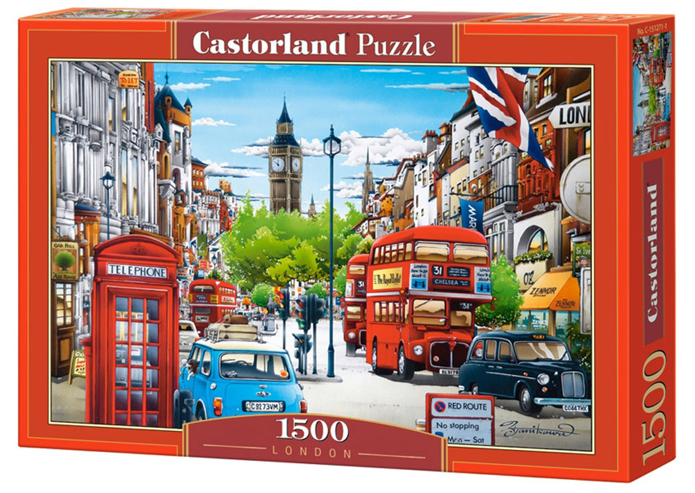 Castorland Пазл Лондон