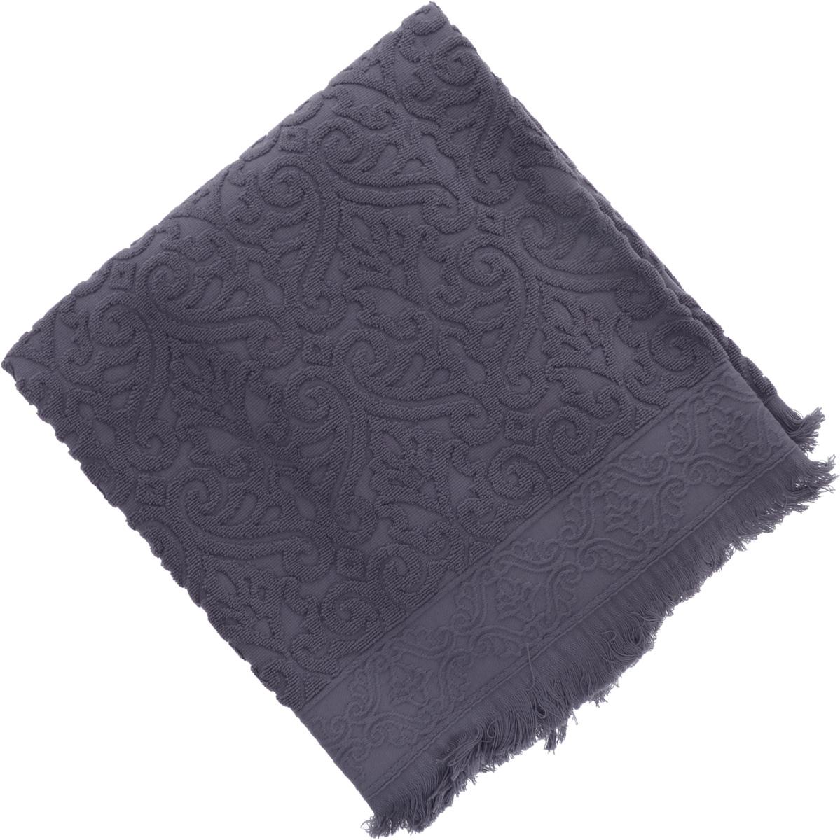 Полотенце махровое Issimo Home Tarren, цвет: индиго, 90 x 150 см4961Полотенце Issimo Home Tarren выполнено из 100% хлопка с махровым рельефным узором. Изделие отлично впитывает влагу, быстро сохнет и не теряет форму даже после многократных стирок. Рекомендации по уходу:- режим стирки при 40°C,- допускается обычная химчистка,- отбеливание запрещено,- глажка при температуре подошвы утюга до 110°С,- барабанный отжим запрещен.Размер полотенца: 90 х 150 см.