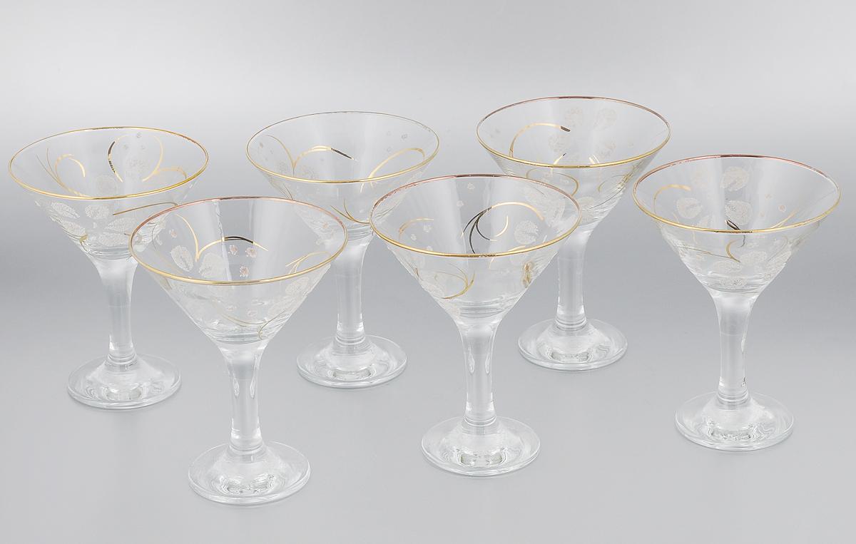 Набор бокалов для мартини Гусь-Хрустальный Клематис, 170 мл, 6 шт13-410кНабор Гусь-Хрустальный Клематис состоит из 6 бокалов, изготовленных из высококачественного стекла. Изделия предназначены для подачи мартини. Такой набор прекрасно дополнит праздничный стол и станет желанным подарком в любом доме. Разрешается мыть в посудомоечной машине. Диаметр бокала (по верхнему краю): 11 см. Высота бокала: 13,7 см. Диаметр основания бокала: 6,5 см.Уважаемые клиенты! Обращаем ваше внимание на незначительные изменения в дизайне товара, допускаемые производителем. Поставка осуществляется в зависимости от наличия на складе.
