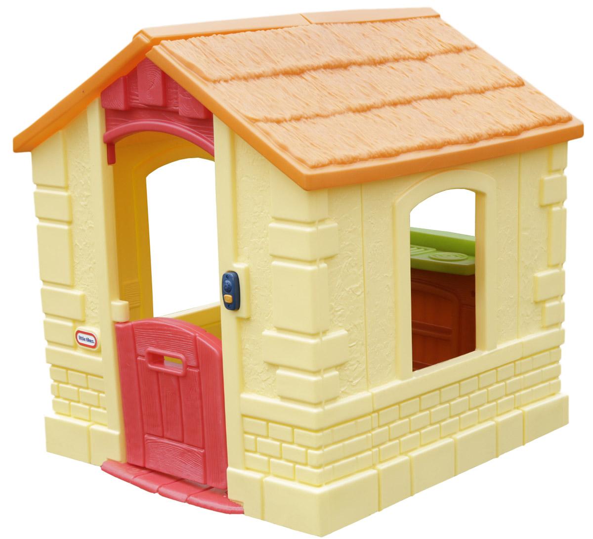 Little Tikes Игровой домик цвет желтый купить каталка little tikes
