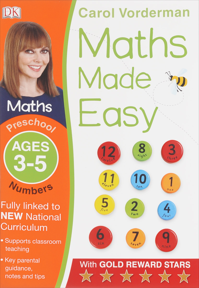 Maths Made Easy: Preschool: Numbers roger priddy let s get ready for school simple maths маркер