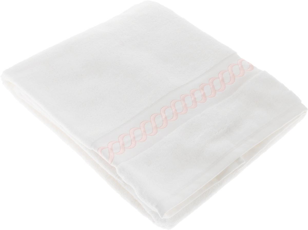 Полотенце махровое Issimo Home Pauline, цвет: белый, розовый, 70 x 140 см4725Полотенце Issimo Home Pauline выполнено из натуральной махровой ткани (100% хлопок). Изделие отлично впитывает влагу, быстро сохнет и не теряет форму даже после многократных стирок. Рекомендации по уходу:- режим стирки при 40°C,- допускается обычная химчистка,- отбеливание запрещено,- глажка при температуре подошвы утюга до 110°С,- барабанный отжим запрещен.Размер полотенца: 70 x 140 см.