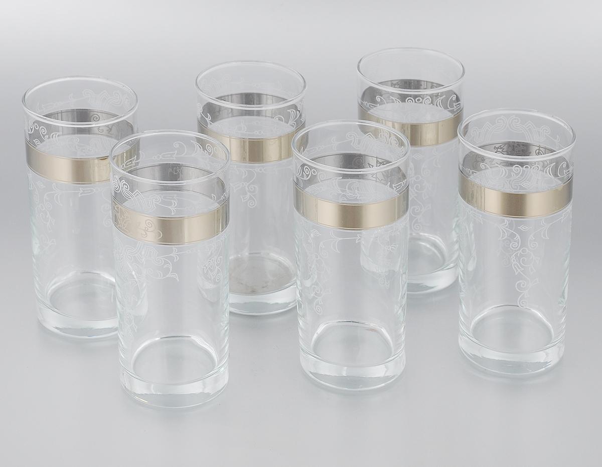 Набор стаканов для сока Мусатов Бьюти, 290 мл, 6 шт набор стаканов для сока мусатов флер 290 мл 6 шт