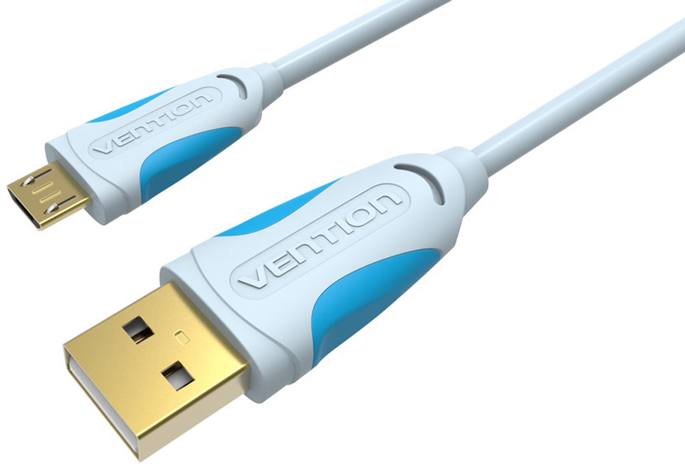 Vention USB 2.0 AM/micro B 5pin кабель (1 м)VAS-A04-S100Vention - внешний интерфейсный кабель, предназначенный для синхронизации, передачи данных, а также зарядки периферийных (мобильных) устройств и их компонентов с разъемом USB и USB micro B 5 pin.Продукция соответствует следующим сертификатам: RoHS, CE, FCC, TIA, ISO.Пропускная способность интерфейса: до 480 Мбит/сСечение жилы: 28AWG