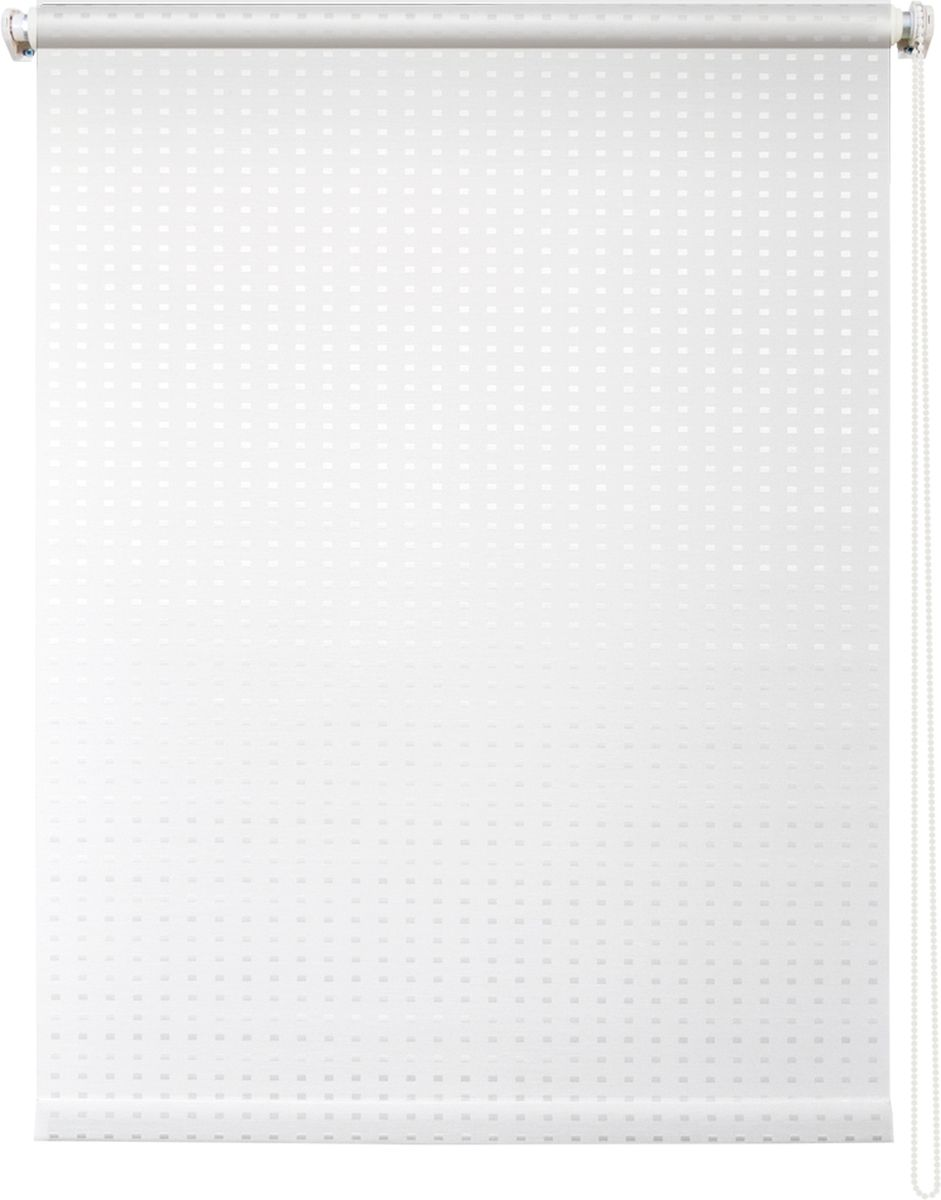 Штора рулонная Уют Плаза, цвет: белый, 60 х 175 см62.РШТО.7701.060х175Штора рулонная Уют Плаза выполнена из прочного полиэстера с обработкой специальным составом, отталкивающим пыль. Ткань не выцветает, обладает отличной цветоустойчивостью и светонепроницаемостью.Штора закрывает не весь оконный проем, а непосредственно само стекло и может фиксироваться в любом положении. Она быстро убирается и надежно защищает от посторонних взглядов. Компактность помогает сэкономить пространство. Универсальная конструкция позволяет крепить штору на раму без сверления, также можно монтировать на стену, потолок, створки, в проем, ниши, на деревянные или пластиковые рамы. В комплект входят регулируемые установочные кронштейны и набор для боковой фиксации шторы. Возможна установка с управлением цепочкой как справа, так и слева. Изделие при желании можно самостоятельно уменьшить. Такая штора станет прекрасным элементом декора окна и гармонично впишется в интерьер любого помещения.
