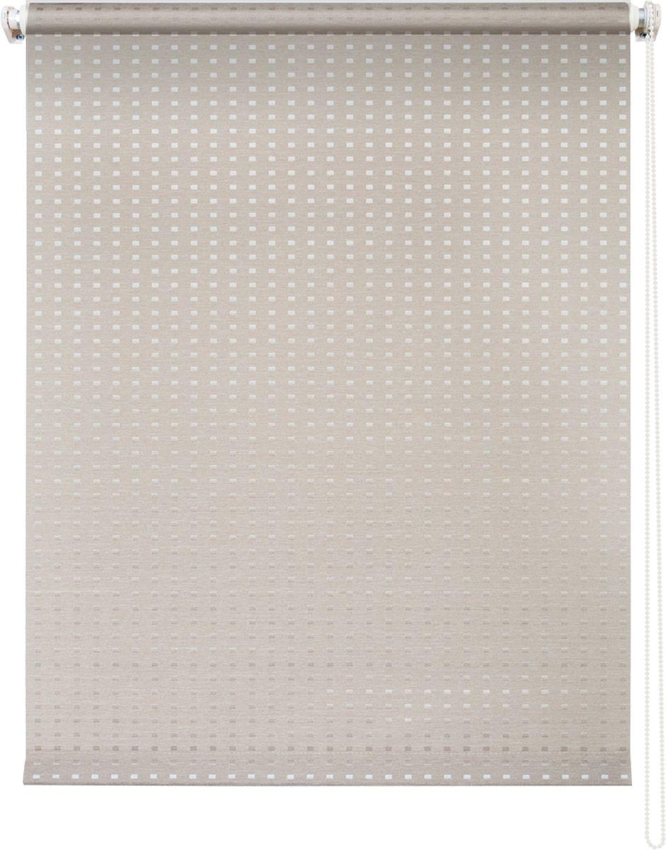 Штора рулонная Уют Плаза, цвет: кремовый, 120 х 175 см коврик домашний sunstep цвет кремовый 120 х 170 х 4 см