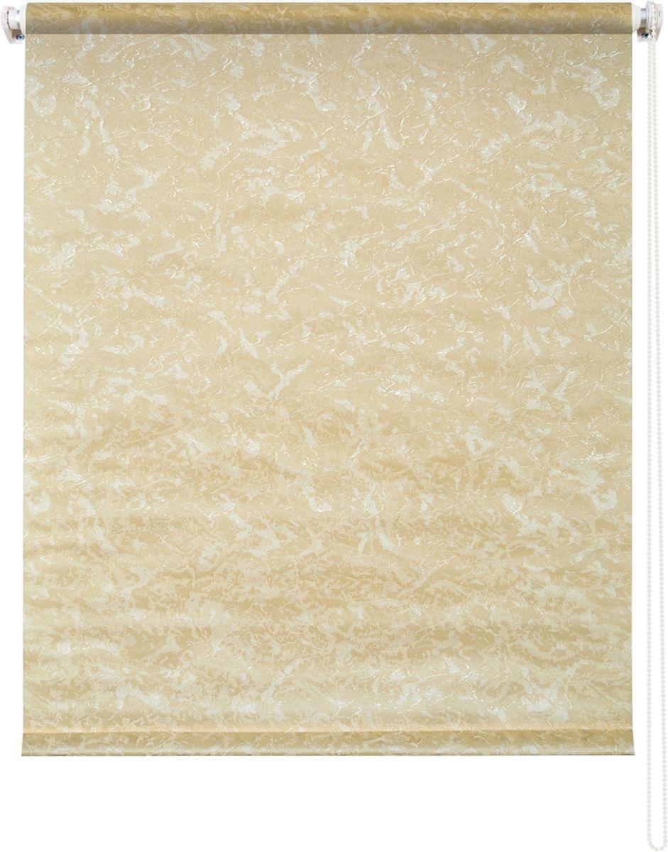 Штора рулонная Уют Фрост, цвет: желтый, 70 х 175 см62.РШТО.7653.070х175Штора рулонная Уют Фрост выполнена из прочного полиэстера с обработкой специальным составом, отталкивающим пыль. Ткань не выцветает, обладает отличной цветоустойчивостью и светонепроницаемостью.Штора закрывает не весь оконный проем, а непосредственно само стекло и может фиксироваться в любом положении. Она быстро убирается и надежно защищает от посторонних взглядов. Компактность помогает сэкономить пространство. Универсальная конструкция позволяет крепить штору на раму без сверления, также можно монтировать на стену, потолок, створки, в проем, ниши, на деревянные или пластиковые рамы. В комплект входят регулируемые установочные кронштейны и набор для боковой фиксации шторы. Возможна установка с управлением цепочкой как справа, так и слева. Изделие при желании можно самостоятельно уменьшить. Такая штора станет прекрасным элементом декора окна и гармонично впишется в интерьер любого помещения.