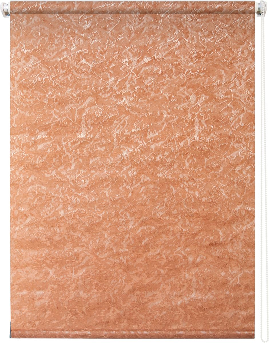 Штора рулонная Уют Фрост, цвет: оранжевый, 60 х 175 см62.РШТО.7654.060х175Штора рулонная Уют Фрост выполнена из прочного полиэстера с обработкой специальным составом, отталкивающим пыль. Ткань не выцветает, обладает отличной цветоустойчивостью и светонепроницаемостью.Штора закрывает не весь оконный проем, а непосредственно само стекло и может фиксироваться в любом положении. Она быстро убирается и надежно защищает от посторонних взглядов. Компактность помогает сэкономить пространство. Универсальная конструкция позволяет крепить штору на раму без сверления, также можно монтировать на стену, потолок, створки, в проем, ниши, на деревянные или пластиковые рамы. В комплект входят регулируемые установочные кронштейны и набор для боковой фиксации шторы. Возможна установка с управлением цепочкой как справа, так и слева. Изделие при желании можно самостоятельно уменьшить. Такая штора станет прекрасным элементом декора окна и гармонично впишется в интерьер любого помещения.