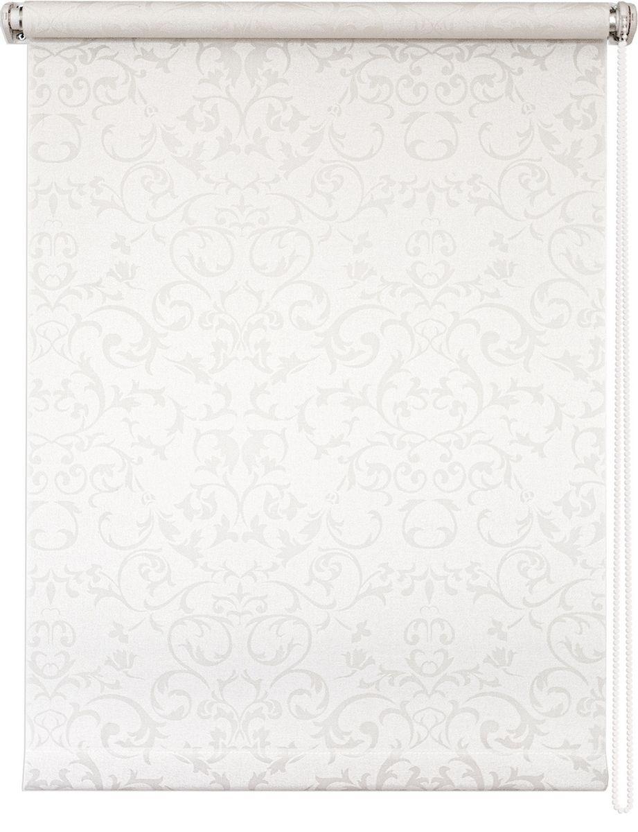 Штора рулонная Уют Дельфы, цвет: белый, 50 х 175 см62.РШТО.8259.050х175Штора рулонная Уют Дельфы выполнена из прочного полиэстера с обработкой специальным составом, отталкивающим пыль. Ткань не выцветает, обладает отличной цветоустойчивостью и светонепроницаемостью.Штора закрывает не весь оконный проем, а непосредственно само стекло и может фиксироваться в любом положении. Она быстро убирается и надежно защищает от посторонних взглядов. Компактность помогает сэкономить пространство. Универсальная конструкция позволяет крепить штору на раму без сверления, также можно монтировать на стену, потолок, створки, в проем, ниши, на деревянные или пластиковые рамы. В комплект входят регулируемые установочные кронштейны и набор для боковой фиксации шторы. Возможна установка с управлением цепочкой как справа, так и слева. Изделие при желании можно самостоятельно уменьшить. Такая штора станет прекрасным элементом декора окна и гармонично впишется в интерьер любого помещения.