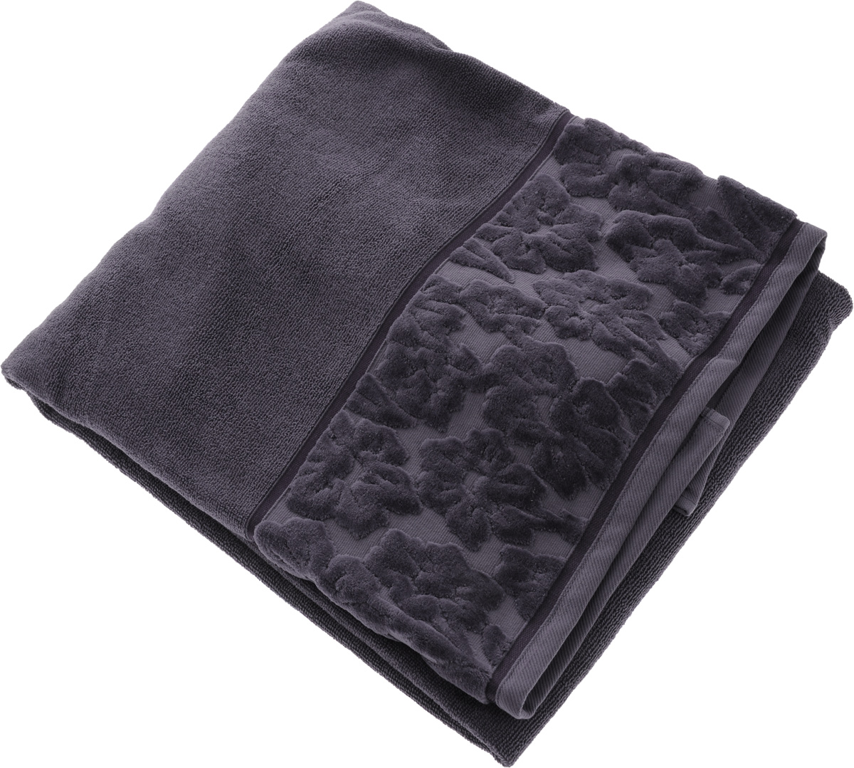 Полотенце махровое Issimo Home Jacquelyn, цвет: индиго, 90 x 150 см4978Махровое полотенце Issimo Home Jacquelyn выполнено из 100% хлопка. Изделие отлично впитывает влагу, быстро сохнет, сохраняет яркость цвета и не теряет форму даже после многократных стирок. Полотенце очень практично и неприхотливо в уходе. Оно прекрасно дополнит интерьер ванной комнаты.