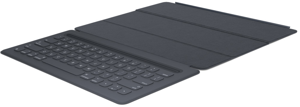 все цены на Apple Smart Keyboard чехол-клавиатура для iPad Pro 12.9, Black онлайн