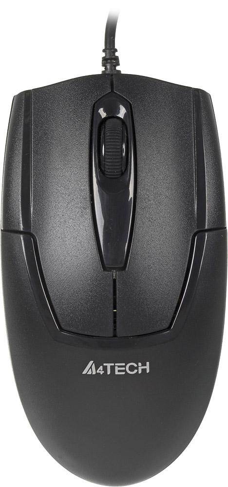 A4Tech V-Track Padless OP-540NU, Black мышь