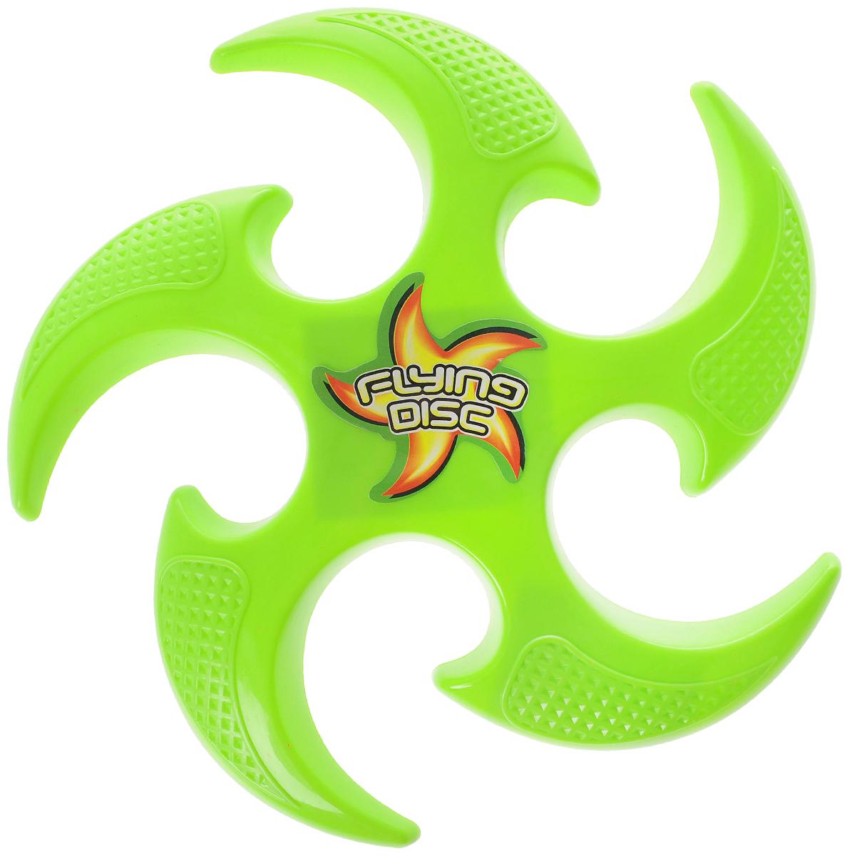 YG Sport Бумеранг цвет салатовый yg sport игровой набор лови бросай