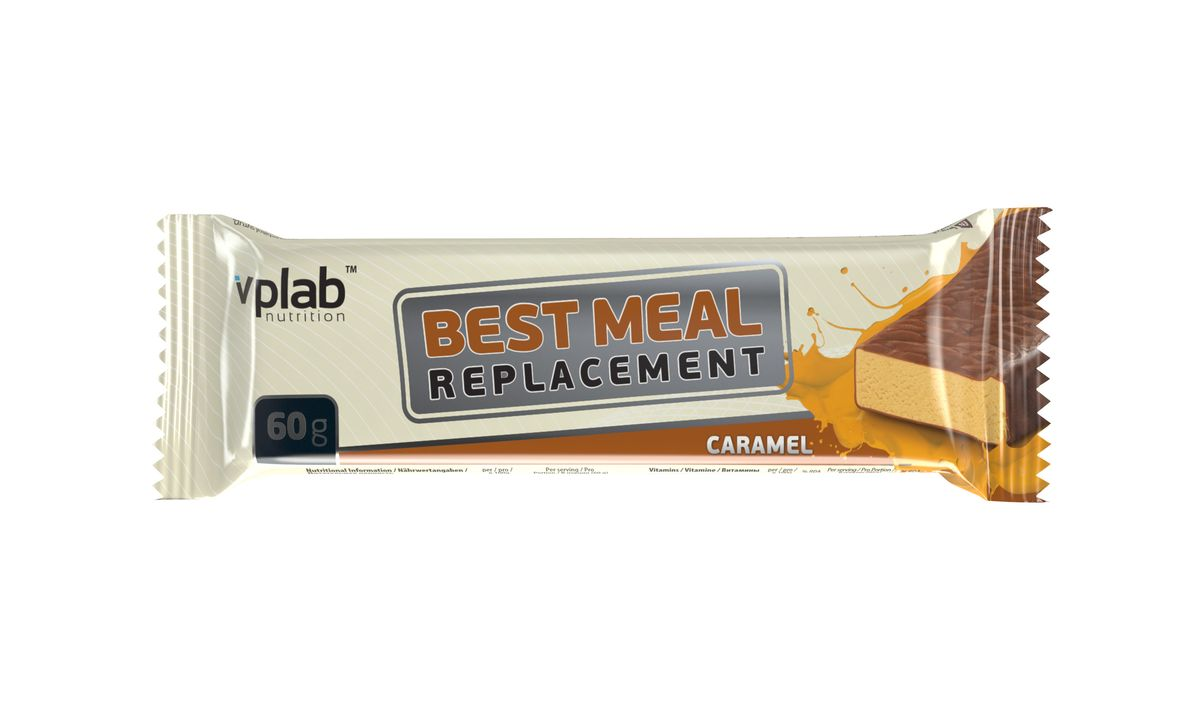 "Заменитель питания VPLab ""Best Meal Replacement"", карамель, 60 г, VP Laboratory"