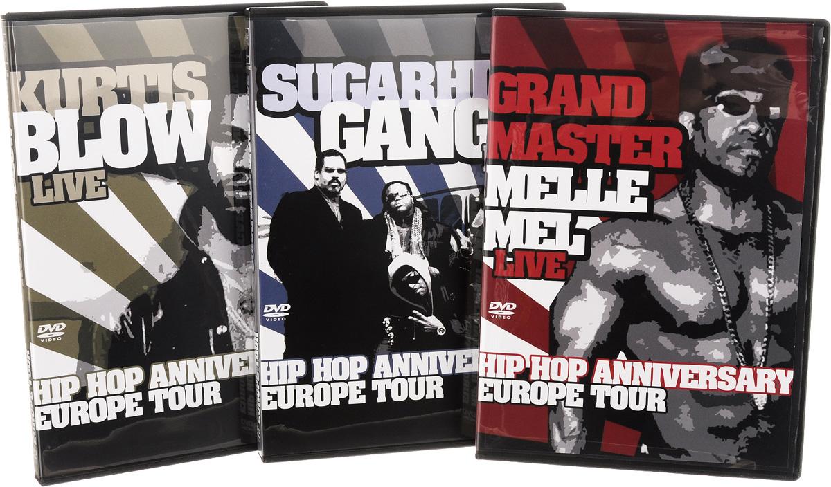 Hip Hop Anniversary Europe Tour (3 DVD) ZYX Music,Волтэкс-инвест