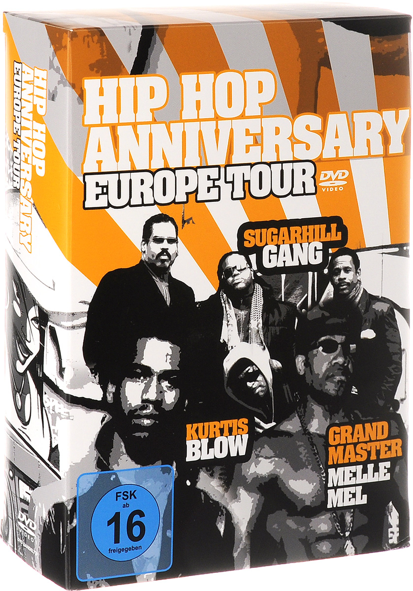 Hip Hop Anniversary Europe Tour (3 DVD) клубные танцы house hip hop dvd