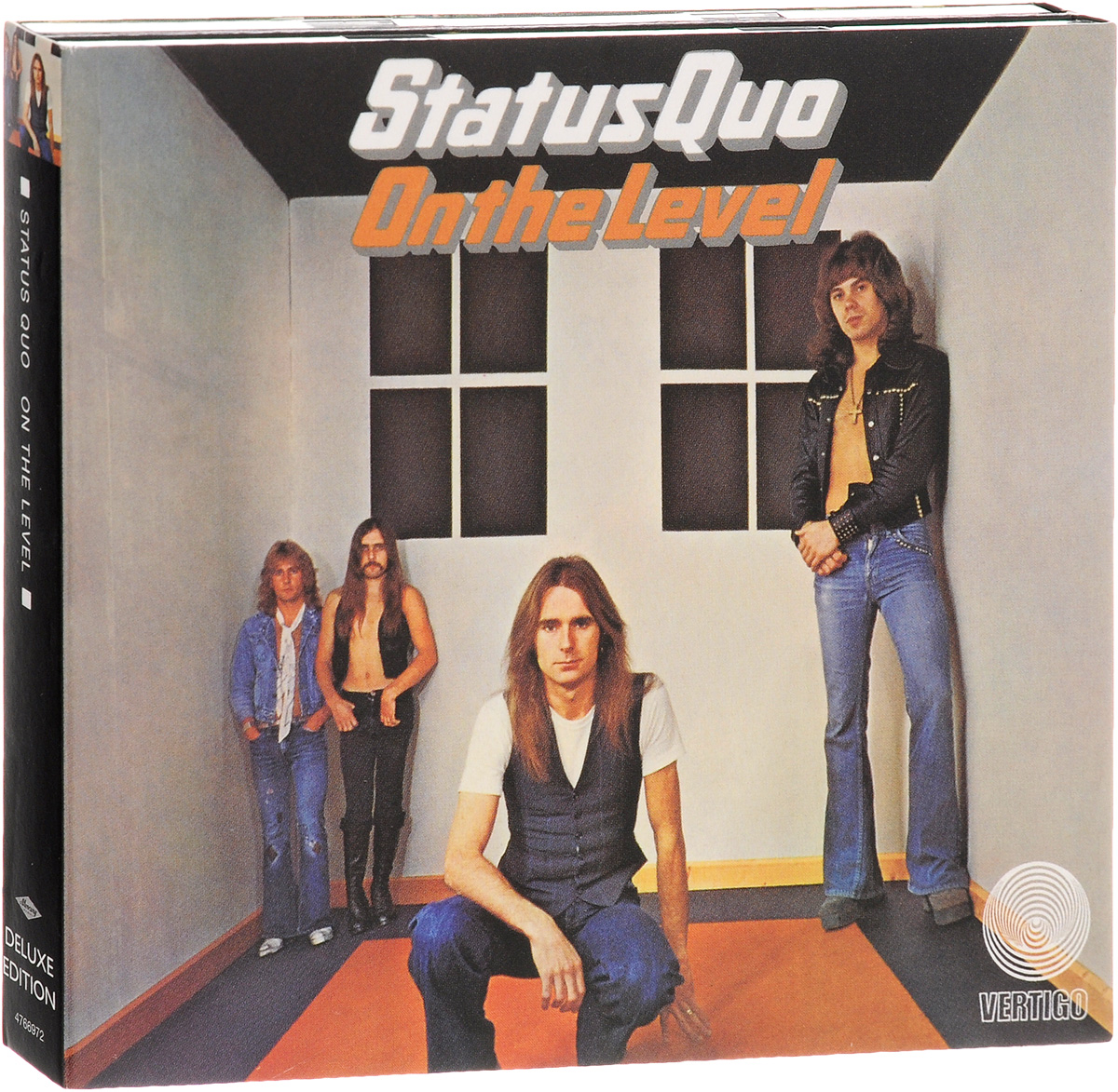 Status Quo Status Quo. On The Level. Deluxe Edition (2 CD) brontё c jane eyre level 2 cd