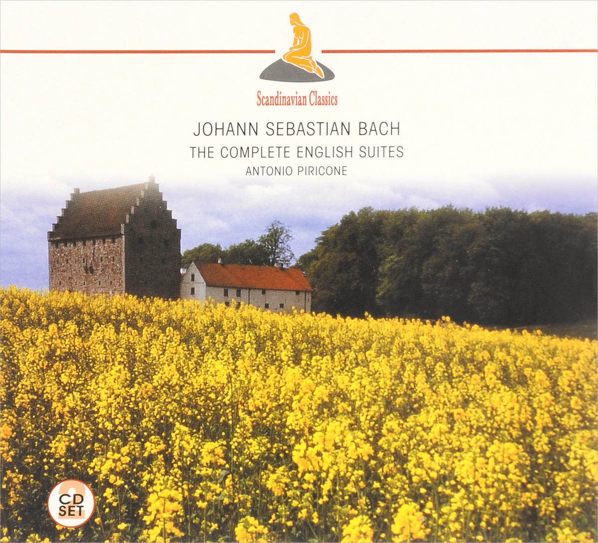 Antonio Piricone Scandinavian Classics. Antonio Piricone. Johann Sebastian Bach. The Complete English Suites (2 CD) мюррей перайа murray perahia bach english suites