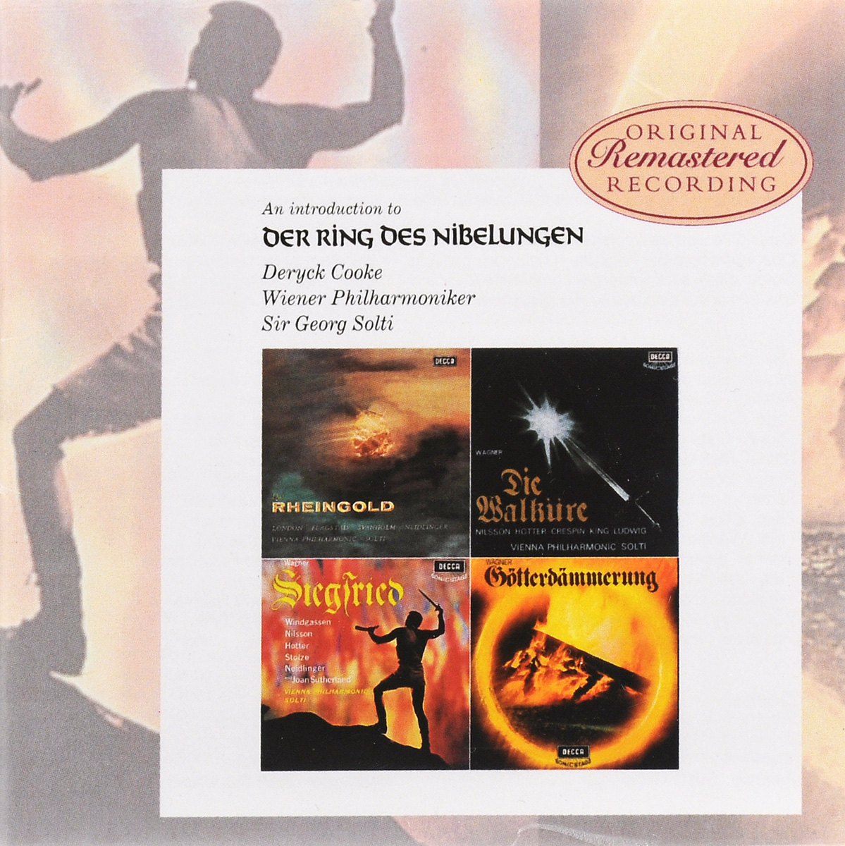Георг Шолти,Wiener Philharmoniker,Deryck Cooke Sir Georg Solti. Richard Wagner. An Introduction On Der Ring Des Nibelungen (2 CD) bailey richard wagner prelude