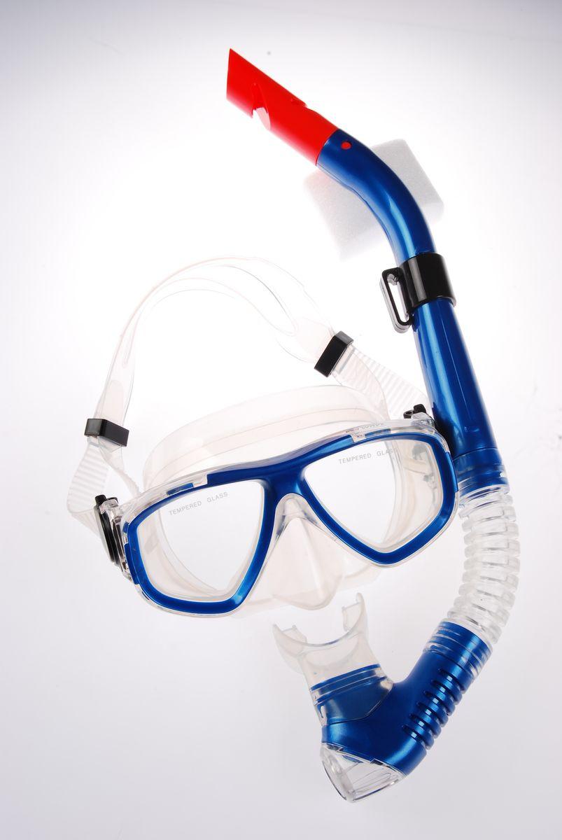 Комплект для плавания WAVE: маска, трубка, цвет: синий. MS-1359S40MS-1359S40Комплект для плавания WAVE- профессиональная серия масок и трубок. В комплект для плавания входят: маска и трубка. Маска: плоский дизайн и широкий угол обзора практически на 180 градусов (увеличение периферического зрения). Монолинза из закаленногостекла. Обтюратор маски из гипоалергенного силикона, препятствует проникновению воды внутрь маски. Если вода попала под маску, то все чтонеобходимо сделать для удаления воды - это выдох носом. При этом автоматически уравнивается давление под маской с давлением окружающейсреды. Регулируемый силиконовый ремешок, препятствует скольжению. Трубка: специальная конструкция трубки предохраняет от попадания воды при погружении под воду. Мягкий эластичный силиконовый загубник,свободно меняющий положение. Силиконовый клапан для продувки трубки от водыВес:480 грРазмер маски: 15,6 x 8 x 11 см Длина трубки: 39 см