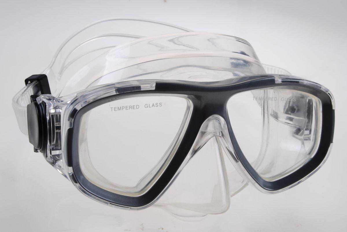 Маска для плавания WAVE, цвет: черный. M-1359M-1359_нМаска для плавания WAVE имеет низкопрофильный дизайн и широкий угол обзора практически на 180 градусов (увеличение периферического зрения)Линзы из закаленного стеклаДвухслойный обтюратор маски из гипоалергенного мягкого пластика, препятствует проникновению воды внутрь маскиРегулируемый пластиковый ремешок, препятствует скольжениюМатериал: пластик (PVC) Ширина оправы маски: 15,6 x 8 x 11 см