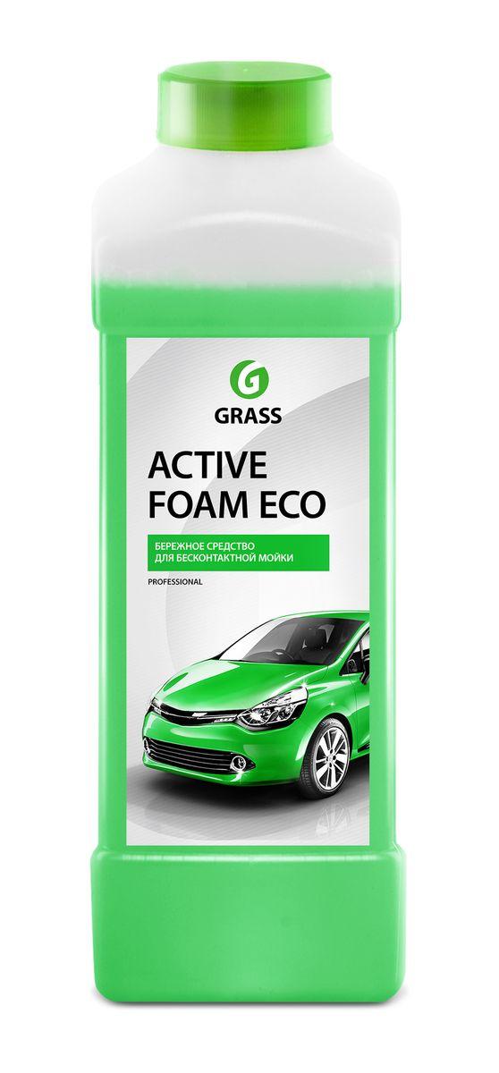 Активная пена Grass Active Foam ECO, 1 л113100Активная пена Grass Active Foam Eco - это концентрированное, высокопенное, однокомпонентное средство для бесконтактной мойки автомобиля. Без труда удаляет дорожную пыль, грязь, масло, следы от насекомых. Создает стойкую, обильную пену, которая легко смывается с поверхности. Не наносит вреда алюминиевым, никелированным поверхностям и другим покрытиям из сплавов цветных металлов. Содержит антикоррозионные добавки. Перед нанесением средство необходимо разбавить с водой из расчета 1:30-1:50 (20-30 г/л) для пеногенератора (20,50,100 л) или 1:1-1:4 (200-500 г) в пенокомплект (1 л). Товар сертифицирован.