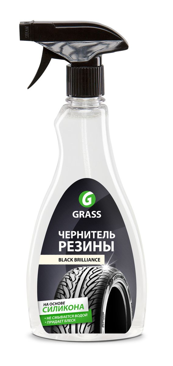"Полироль для шин Grass ""Black Brilliance"", 500 мл"