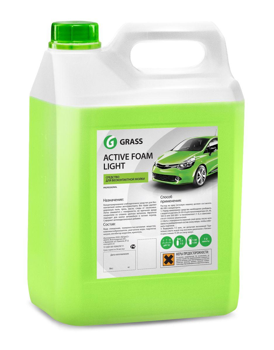 Активная пена Grass Active Foam Light, 5 кг132101Активная пена Grass Active Foam Light - это концентрированное слабощелочное средство для бесконтактной мойки автотранспорта. Без труда удаляет дорожную пыль, грязь, масло, следы от насекомых. Легко смывается с поверхности, не причиняя вреда покрытиям из сплавов цветных металлов. Идеально подходит для мойки автомобиля в летний период. Содержит антикоррозионные добавки. Перед нанесением средство необходимо разбавить с водой из расчета 1:20-1:50 (20-50 г/л) для пеногенератора или 1:1-1:2 (300-500 г) в пенокомплект (1 л). Товар сертифицирован.