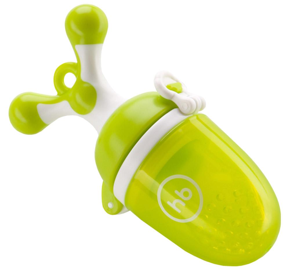 Happy Baby Ниблер с силиконовой сеточкой цвет салатовый