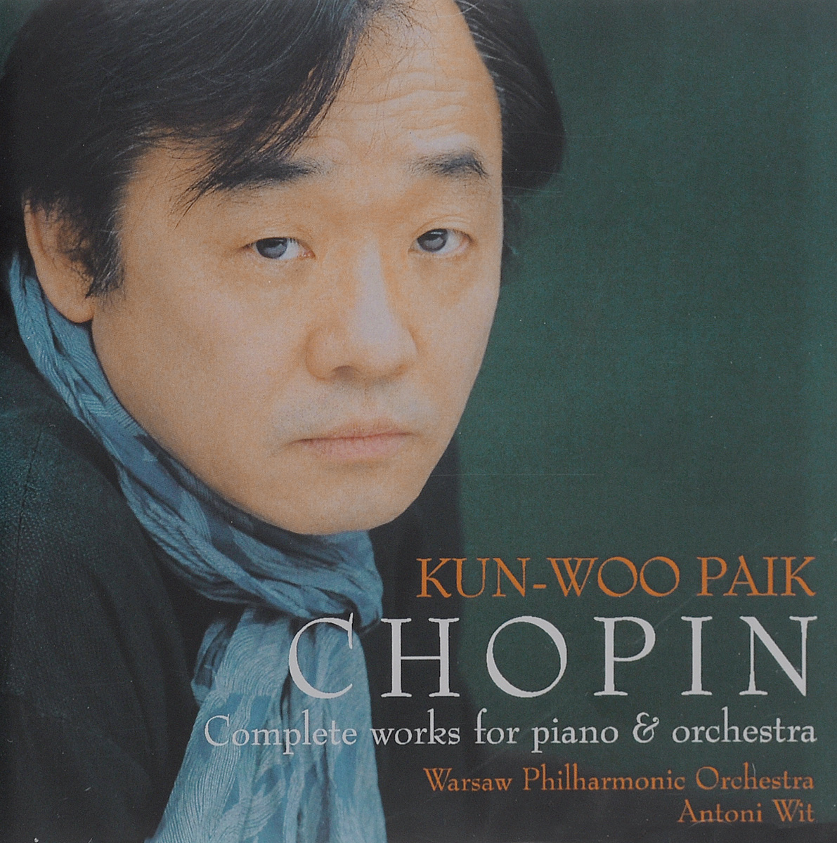 Zakazat.ru: Kun-Woo Paik. Antoni Wit. Chopin. Complete Works For Piano & Orchestra (2 CD)