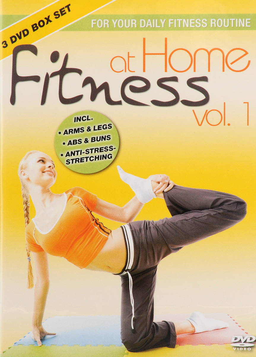Fitness At Home: Vol. 1 (3 DVD) wisher vol 3 glee