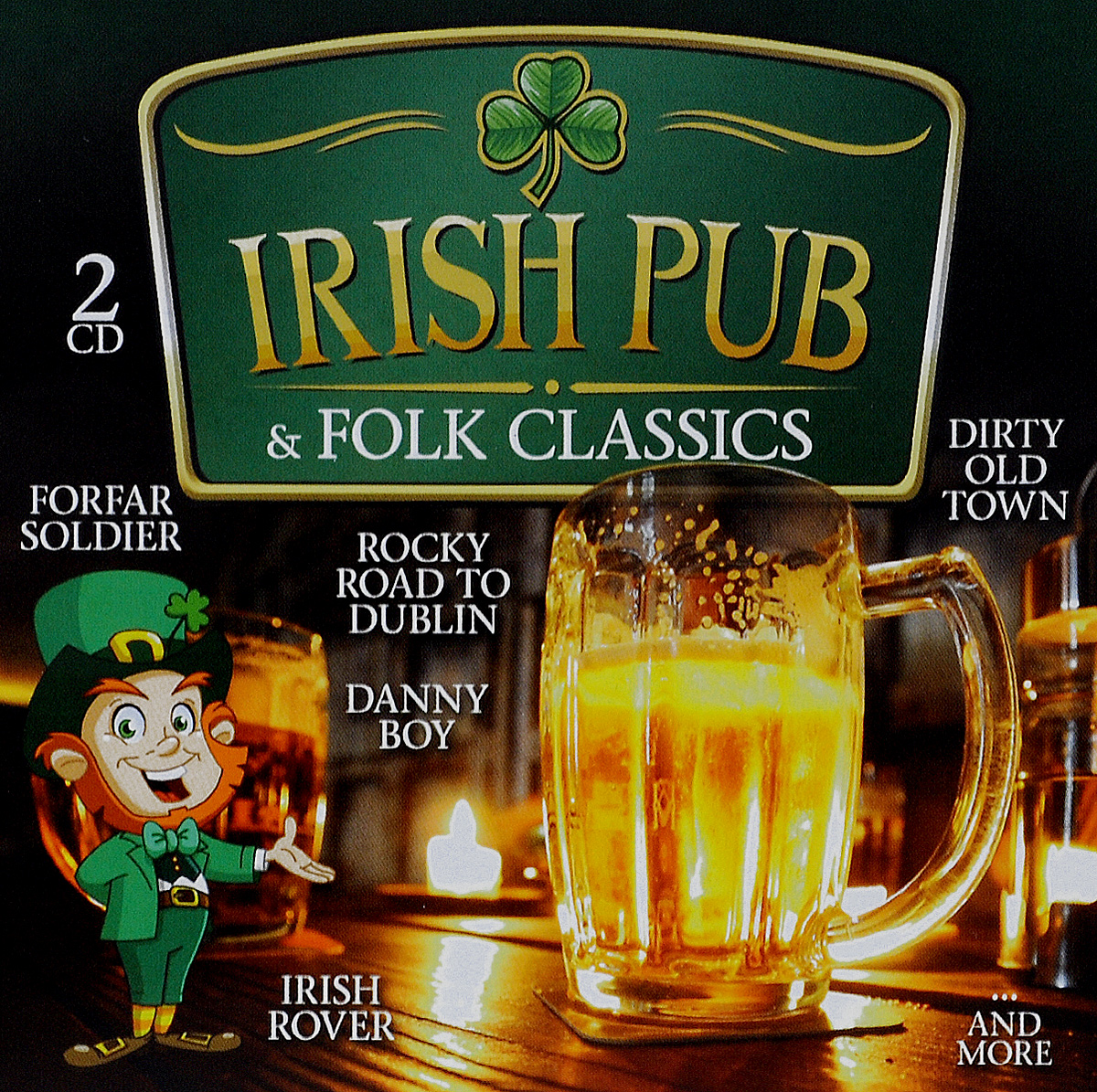 Irish Pub & Folk Classics (2 CD) cd сборник christmas classics