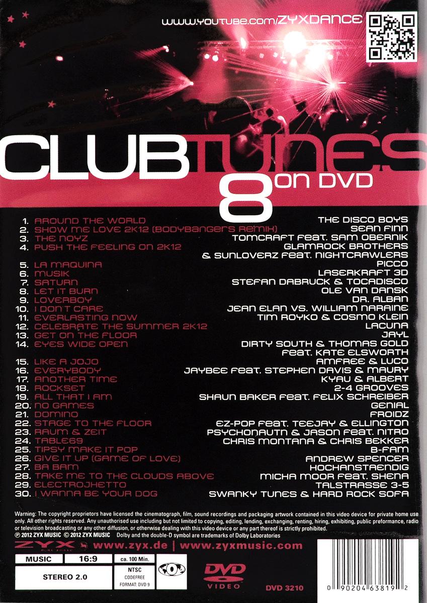 Club Tunes 8 ZYX Music