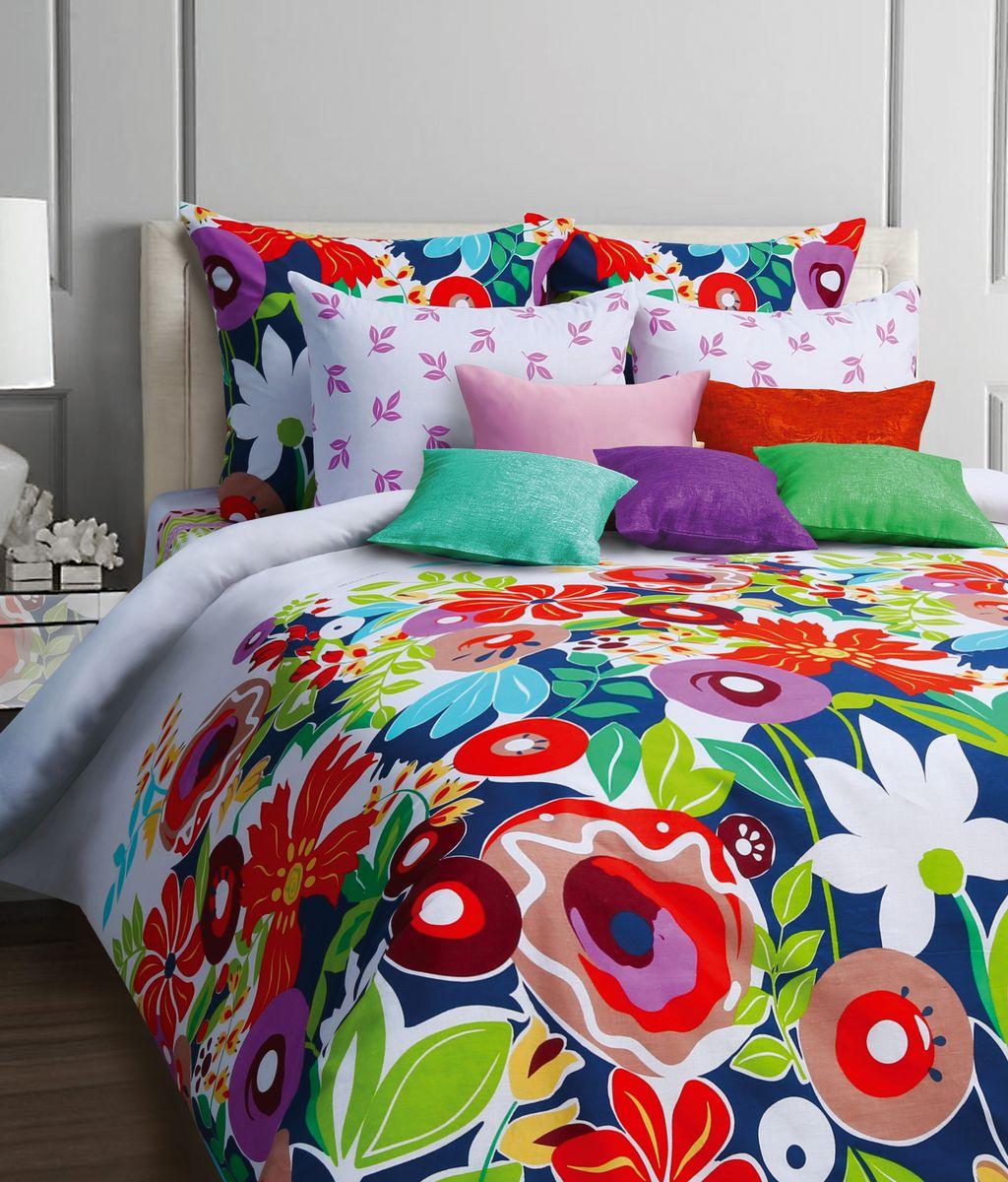 Комплект белья Mona Liza Pampiny, 1,5-спальное, наволочки 70x70551114/28Комплект постельного белья Mona Liza Pampiny, выполненный из бязи (100% хлопок), состоит из пододеяльника, простыни и двух наволочек. Изделия оформлены оригинальным рисунком.Пододеяльник на пуговицах.Бязь - ткань полотняного переплетения с незначительной сминаемостью, хорошо сохраняющая цвет при стирке, легкая, с прекрасными гигиеническими показателями.Такой комплект подойдет для любого стилевого и цветового решения интерьера, а также создаст в доме уют.