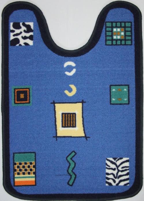 Коврик для ванной MAC Carpet Розетта, цвет: синий, 57 х 80 см14959/синКоврик MAC Carpet Розетта, выполненный из нейлона на резиновой основе, с успехом может применяться в ванных комнатах. Нейлон обеспечивает повышенную износостойкость и простоту в уходе.Коврик Розетта - это прекрасное решение для ванной комнаты.