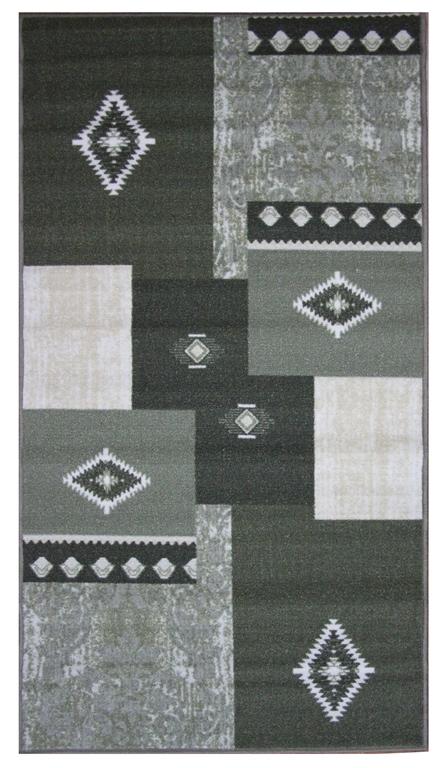 """Коврик для ванной MAC Carpet """"Розетта"""" изготовлен из нейлона на резиновой основе. Такие коврики с успехом могут применяться как в ванных комнатах, так и во всех других помещениях, где необходима защита от влаги. Также подойдет для прихожей или комнаты. Нейлон обеспечивает повышенную износостойкость и простоту в уходе. Такой коврик стильно дополнит интерьер помещения."""