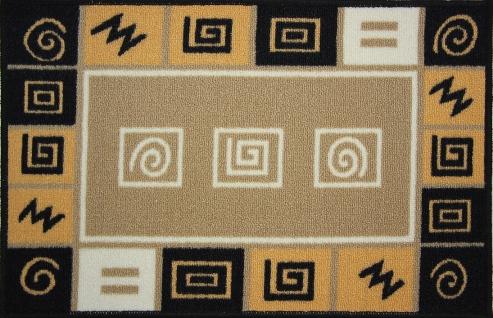 Коврик для ванной MAC Carpet Розетта, цвет: песочный, 44 х 70 см21404/абстрКоврик MAC Carpet Розетта, выполненный из нейлона на резиновой основе, с успехом может применяться в ванных комнатах. Нейлон обеспечивает повышенную износостойкость и простоту в уходе.Коврик Розетта - это прекрасное решение для ванной комнаты.