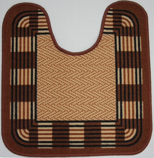 Коврик для ванной MAC Carpet Розетта, цвет: коричневый, 57 х 60 см14958/коричн.Коврик MAC Carpet Розетта, выполненный из нейлона на резиновой основе, с успехом может применяться в ванных комнатах. Нейлон обеспечивает повышенную износостойкость и простоту в уходе.Коврик Розетта - это прекрасное решение для ванной комнаты.