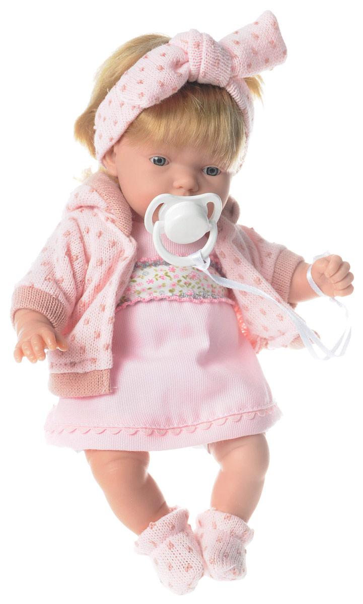 Arias Пупс озвученный Elegance цвет наряда розовый arias пупс цвет платья белый розовый 42 см т59289