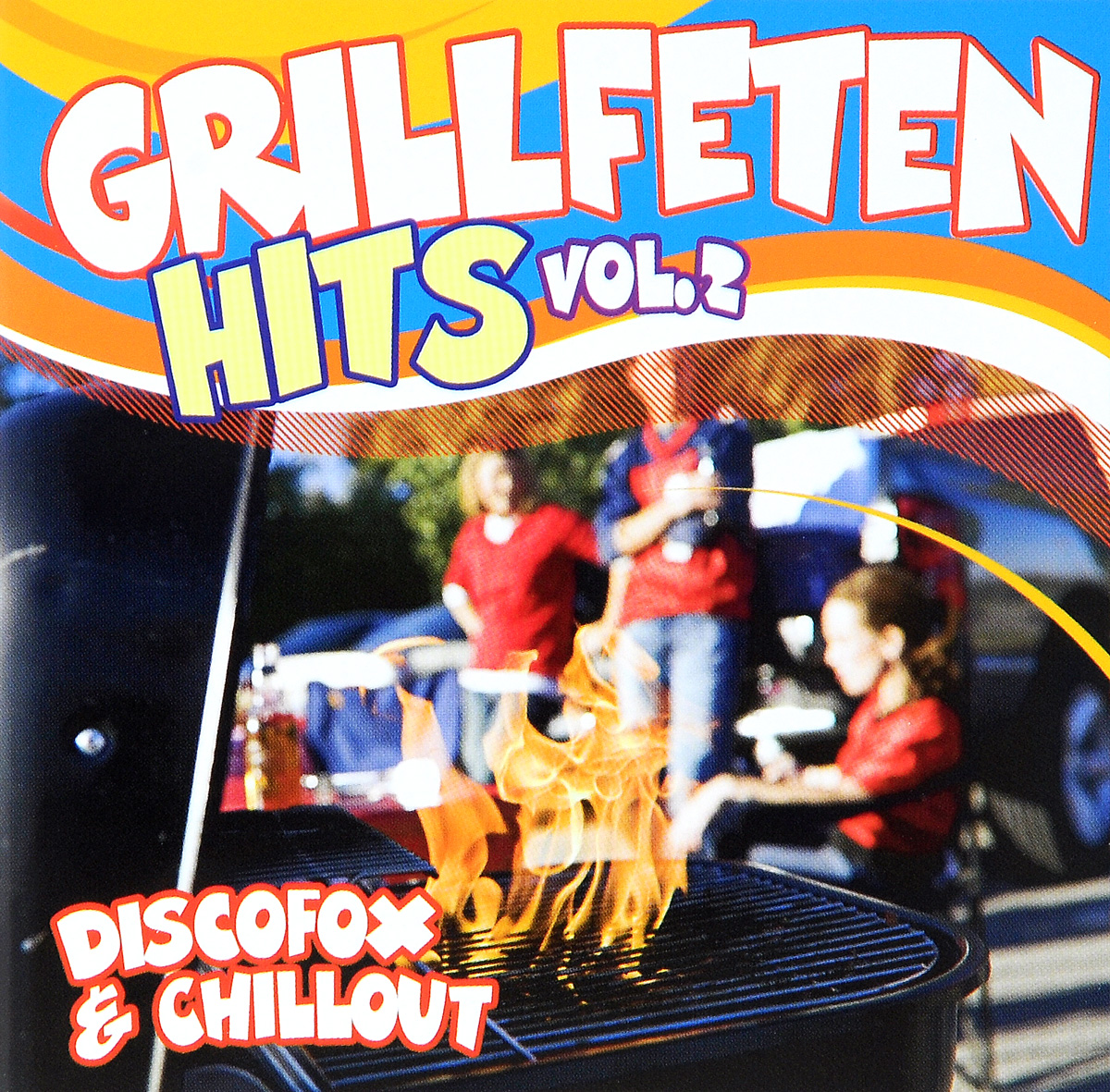 Grillfeten Hits. Vol. 2 (2 CD) астор пьяццолла карлос гардел анибал троило нелли омар альберто гомез tango hits 2 cd