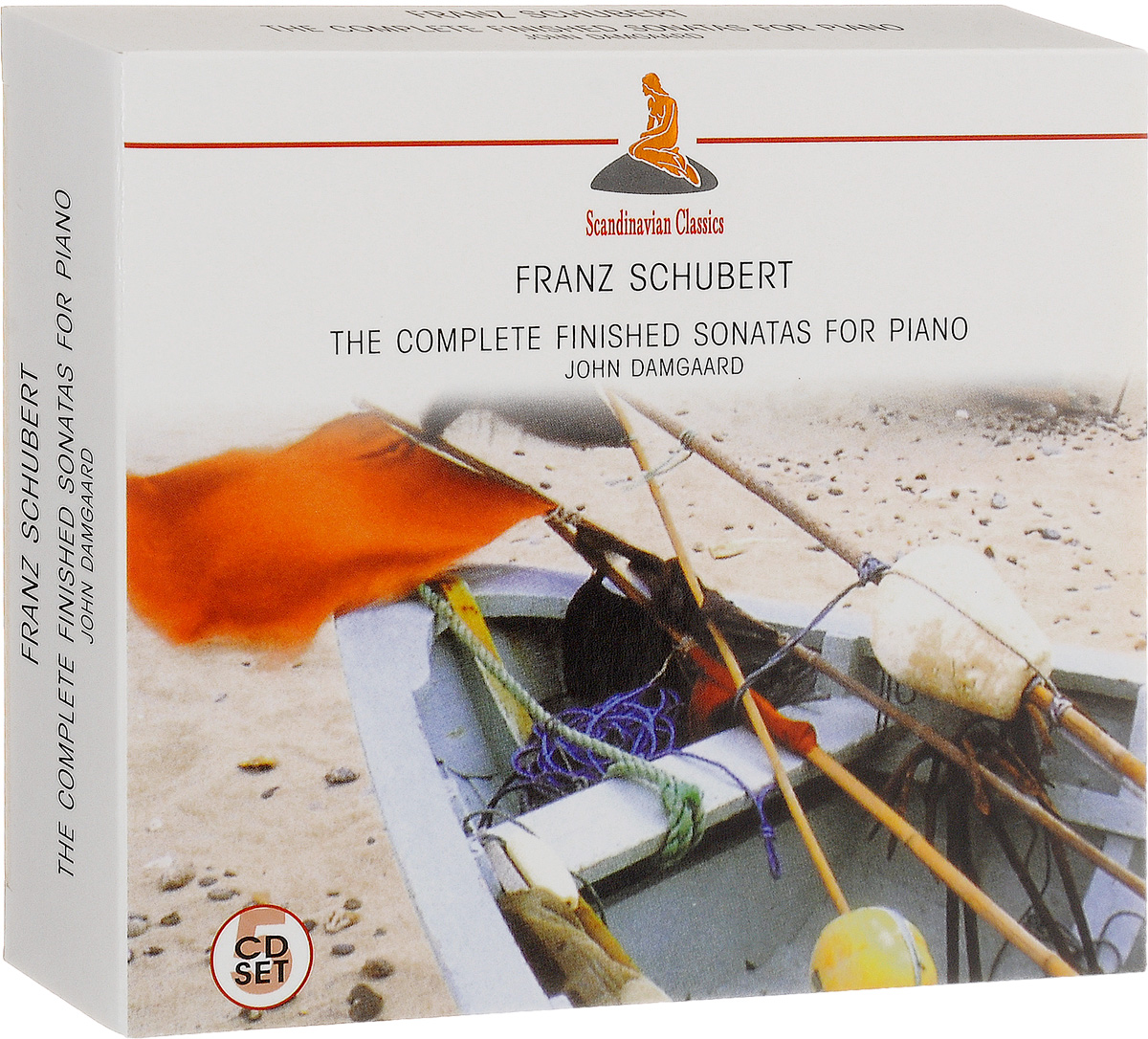 John Damgaard Scandinavian Classics. John Damgaard. Franz Schubert. The Complete Sonatas For Piano (5 CD) kafka franz the castle