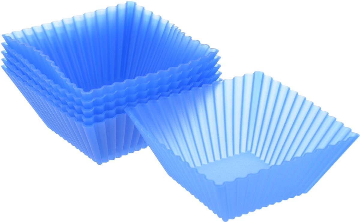 Набор форм для выпечки Mayer & Boch, 7 х 7 см, 6 шт22069Набор Mayer & Boch состоит из шести форм, выполненных из силикона с рельефными стенками. Изделия предназначены для выпечки и заморозки. Силиконовые формы для выпечки имеют много преимуществ по сравнению с традиционными металлическими формами и противнями. Они идеально подходят для использования в микроволновых, газовых и электрических печах при температурах до +210°С. В случае заморозки до -40°С. Благодаря гибкости и антипригарным свойствам силикона, готовое изделие легко извлекается из формы. Силикон абсолютно безвреден для здоровья, не впитывает запахи, не оставляет пятен, легко моется. С таким набором Mayer & Boch вы всегда сможете порадовать своих близких оригинальной выпечкой.Размер формы: 7 х 7 см. Высота стенки: 3 см.Как выбрать форму для выпечки – статья на OZON Гид.