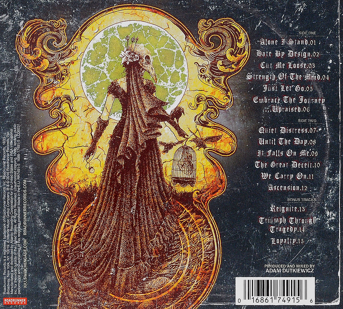 Killswitch Engage.  Incarnate.  Special Edition Warner Music,Roadrunner Records