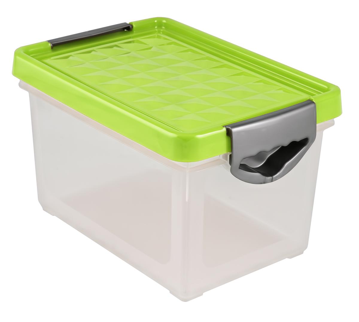 Ящик для хранения BranQ Systema, на колесиках, цвет: зеленый, прозрачный, 19 лBQ1002ЗЛПРУниверсальный ящик для хранения BranQ Systema, выполненный из прочного пластика, поможет правильно организовать пространство в доме и сэкономить место. В нем можно хранить все, что угодно: одежду, обувь, детские игрушки и многое другое. Прочный каркас ящика позволит хранить как легкие вещи, так и переносить собранный урожай овощей или фруктов. Изделие оснащено крышкой, которая защитит вещи от пыли, грязи и влаги.Эргономичные ручки-защелки, позволяют переносить ящик как с крышкой, так и без нее.